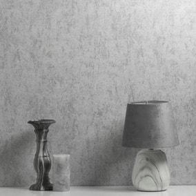 Tulsa Texture White Vinyl Wallpaper