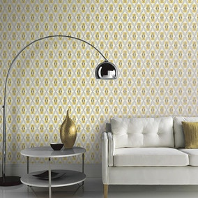 Quartz Yellow Wallpaper