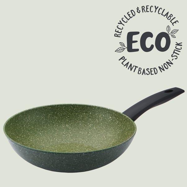 Prestige Eco 28cm Non-Stick Stir Fry Pan Green