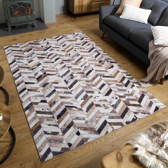 Jesse Faux Hide Rug Jesse Grey undefined