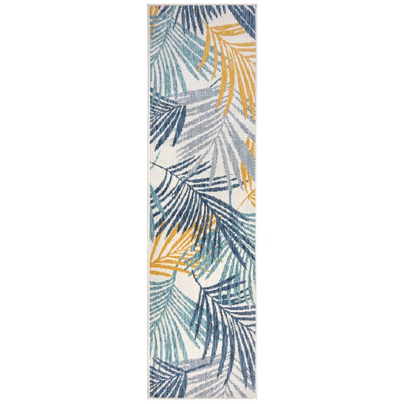 Indoor Outdoor Tropical Runner MultiColoured