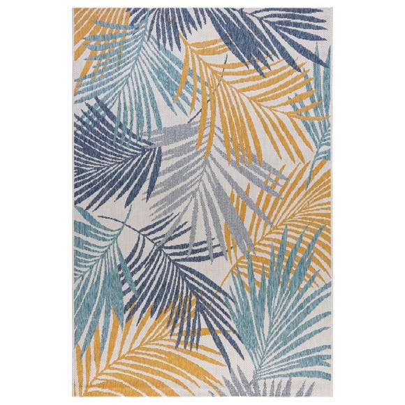 Indoor Outdoor Tropical Rug  undefined