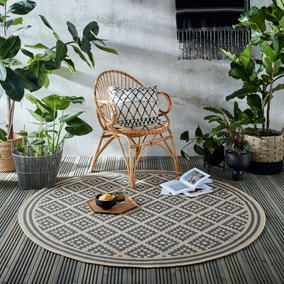 Indoor Outdoor Moretti Circle Rug