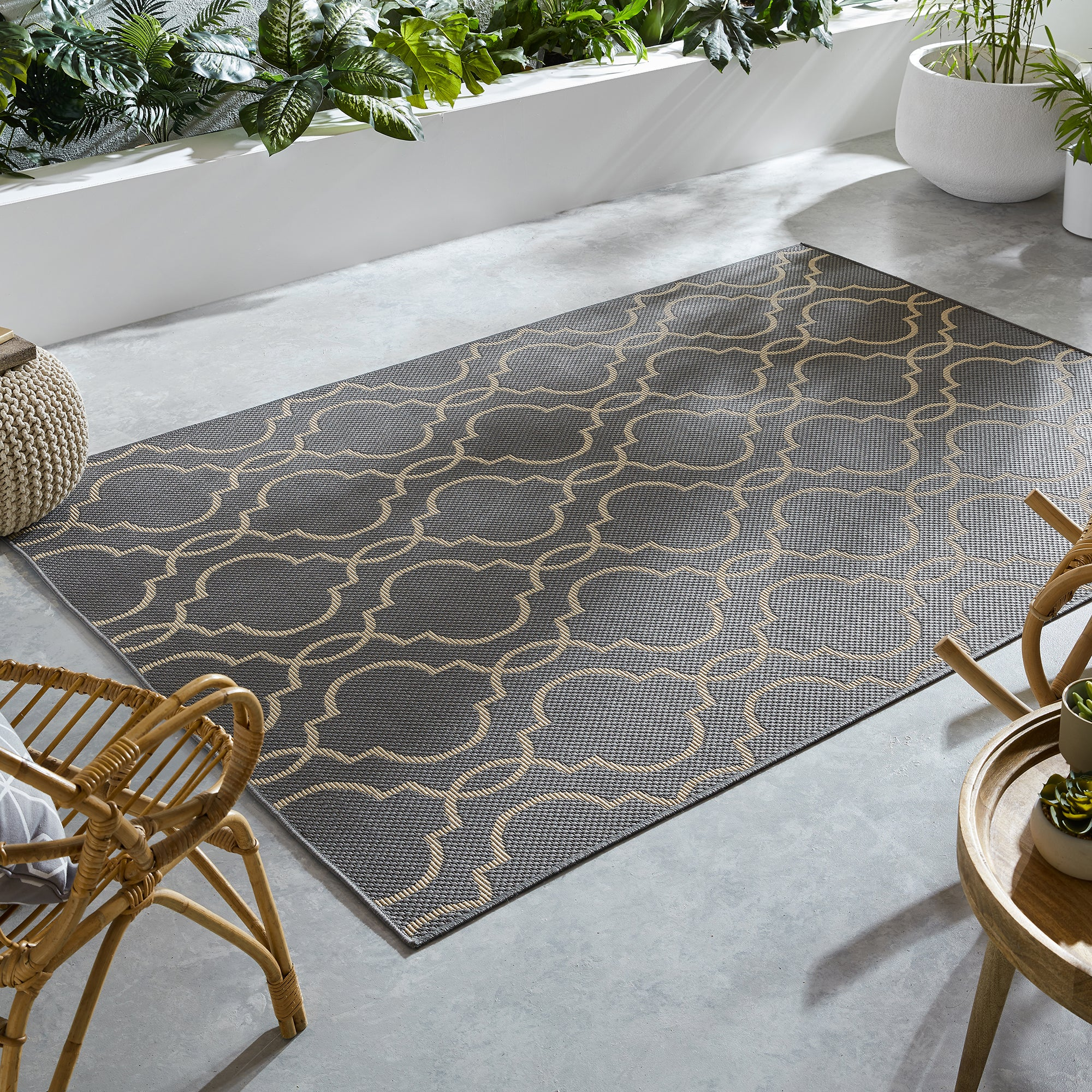 Photo of Indoor outdoor milan rug milan anthracite
