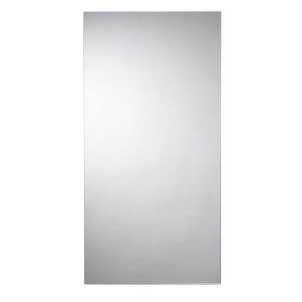 Kentmere Rectangular Mirror Silver