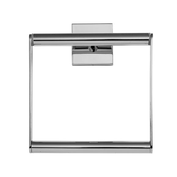 Chester Towel Ring Silver