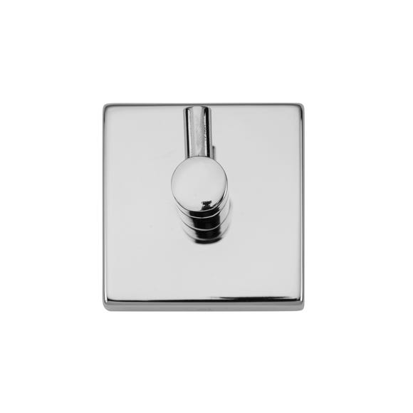 Chester Robe Hook Silver