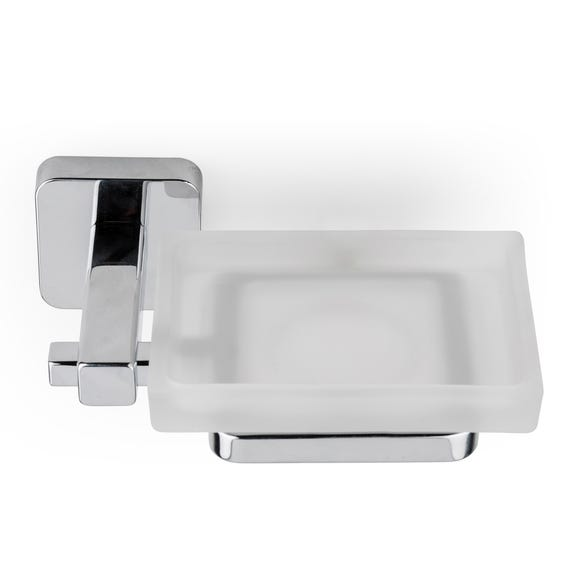 Camberwell Soap Dish and Holder Silver