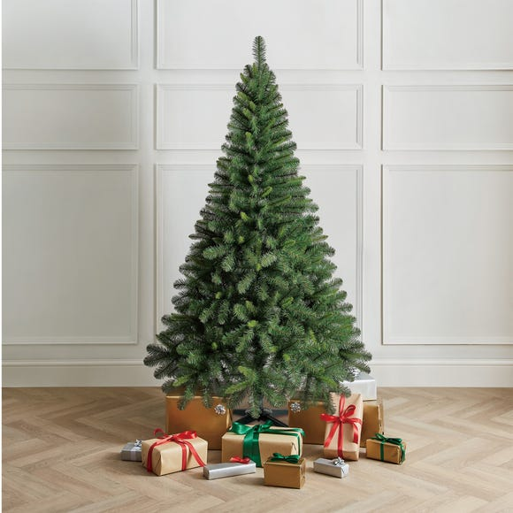 6Ft Deluxe Western Pine Christmas Tree Green