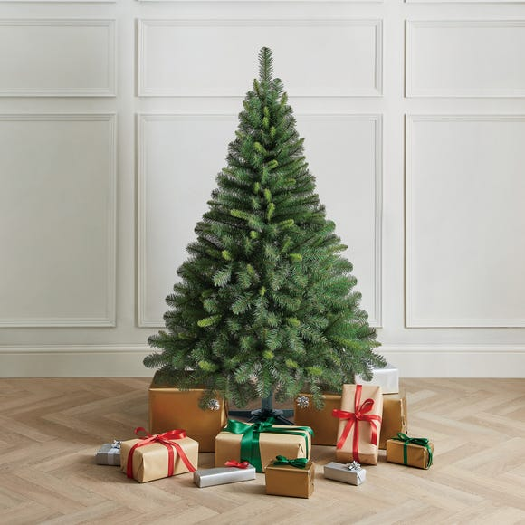 5Ft Deluxe Western Pine Christmas Tree Green