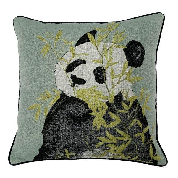 Pandas Green Cushion Green
