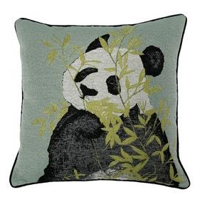 Pandas Green Cushion