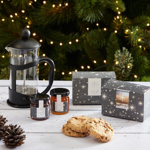 Cafetiere Gift Set Black