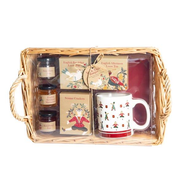 Tea and Treats Hamper Red