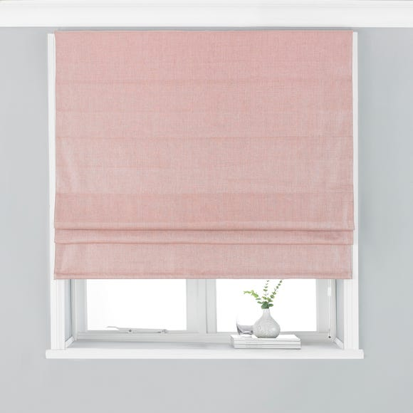 Atlantic Blush Roman Blind  undefined