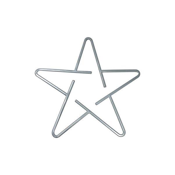 Sparkle and Shine Star Trivet Silver