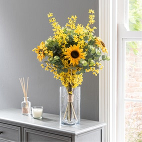 Florals Forever Ella Sunflower Luxury Bouquet Yellow 63cm