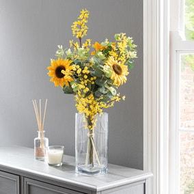 Florals Forever Ella Sunflower Luxury Bouquet Yellow 58cm