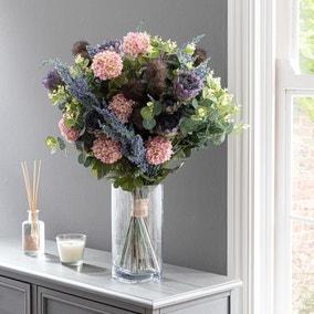 Florals Forever Lila Thistle Luxury Bouquet Purple 63cm