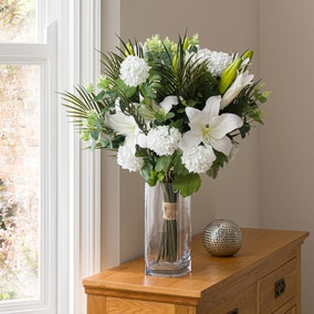 Florals Forever Grace Lily Luxury Bouquet White 63cm