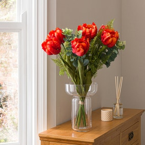 Florals Forever Florence Tulip Luxury Bouquet Orange 58cm