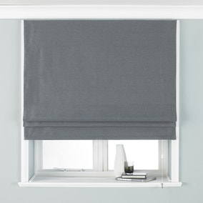 Atlantic Grey Roman Blind