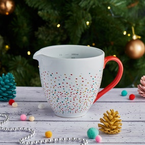 Festive Folk Measuring Jug
