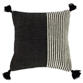Apache Ivory and Black Cushion