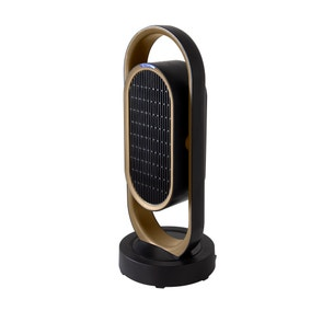 Gold and Black Fan Heater