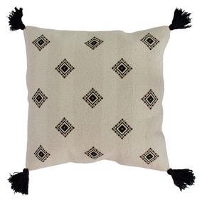 Monterey Ivory and Black Cushion