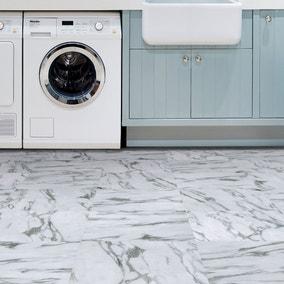 Opaline White Self Adhesive Floor Tiles