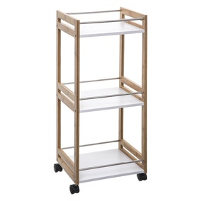 Bamboo Kitchen Trolley