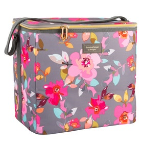 Gardenia Floral Insulated 20 Litre Family Cool Bag