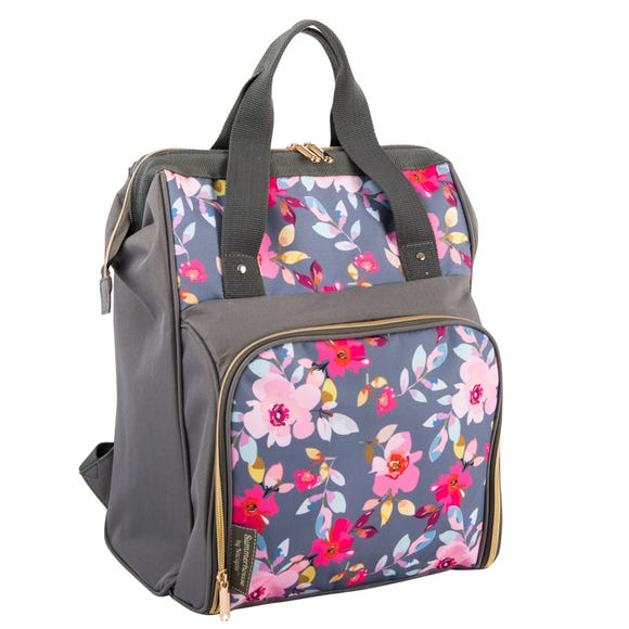 Gardenia Floral Insulated 15 Litre Backpack MultiColoured