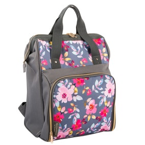 Gardenia Floral Insulated 15 Litre Backpack