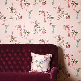 Kotori Blush Pink Wallpaper