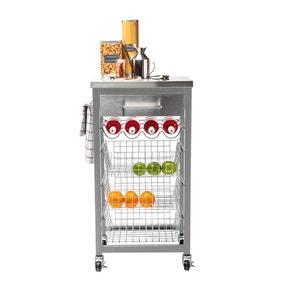 Ashwell Grey Kitchen Trolley