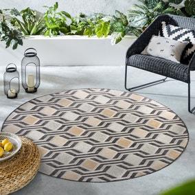 Harmony Indoor Outdoor Circle Rug