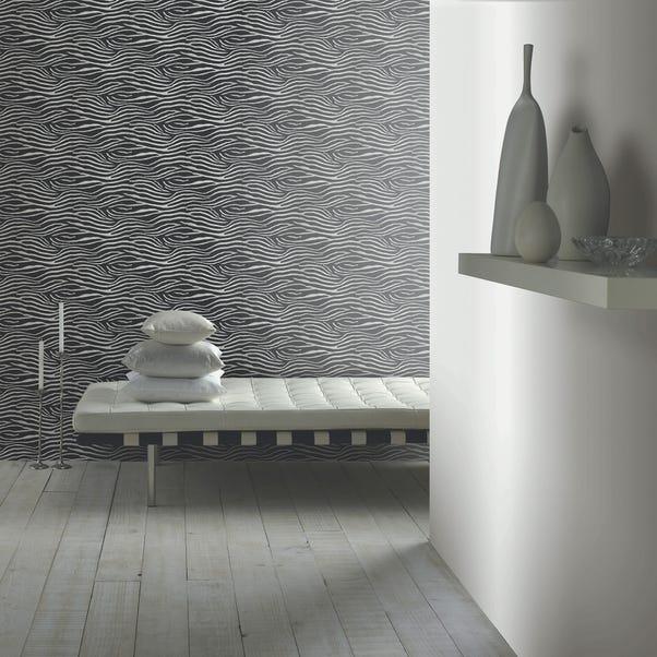 Serengeti Nights Wallpaper Silver