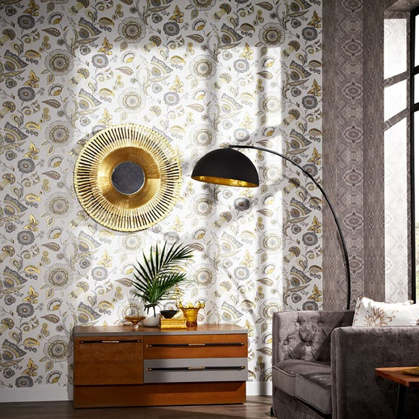 Catarina Gold Wallpaper Gold