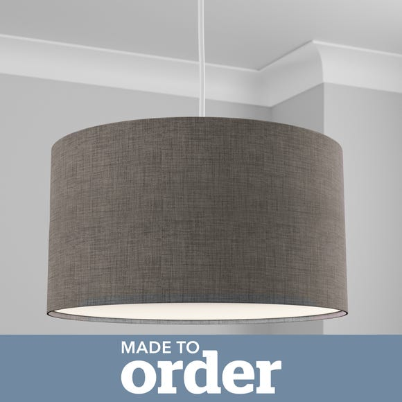 Made to Order 50cm Cylinder Shade Linoso Steel