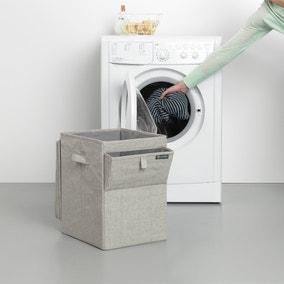 Brabantia Stackable Grey 35L Laundry Box