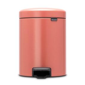 Brabantia Terracotta Pink 5L Pedal Bin