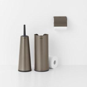 Brabantia Platinum Set of 3 Toilet Accessories
