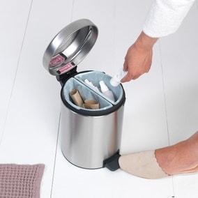 Brabantia Matt Steel 4L Recycle Bin