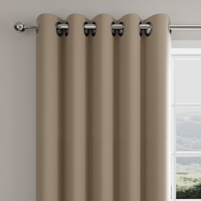 Caldo Thermal Hummus Eyelet Curtains
