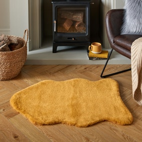 Supersoft Single Pelt Faux Fur Rug