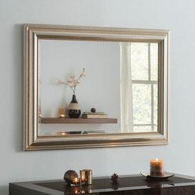 Yearn Champagne Beaded Mirror