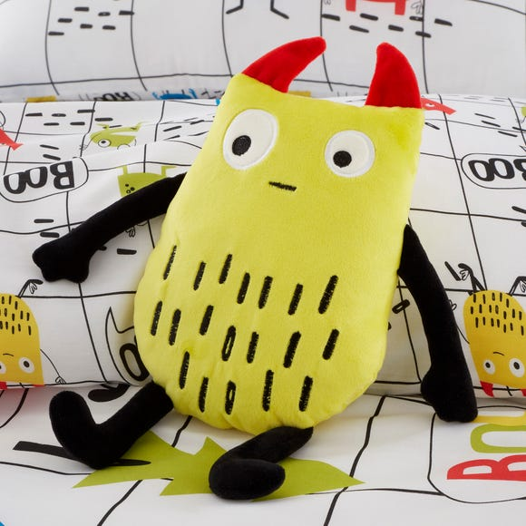 Cosatto Monster Mob Cushion Yellow