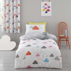 Cosatto Fairy Clouds 100% Cotton Duvet Cover and Pillowcase Set